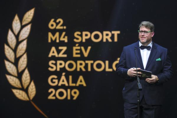 2020016 Az Év Sportolója Gála    Nemzeti Sport Török Attila