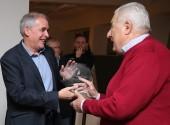 Budapest 20181205  Születésnap  80. születésnap köszöntés  Farkas József