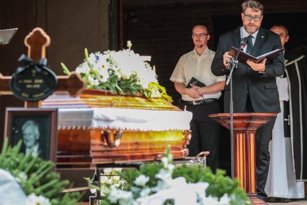 20190823 Simi bácsi temetése Simon JózsefFotó: Dömötör Csaba