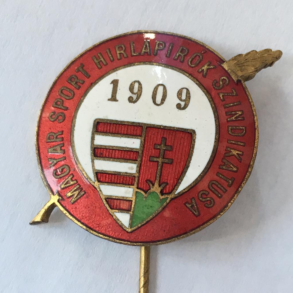 1909 - Magyar sport hírlapírók szindikátusa